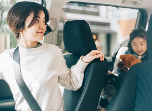 女性ドライバーを応援!